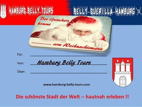 Nun Ist Es Bald Wieder Soweit Und Der Weihnachtsmann Packt Schon Die Geschenke Ein Da Sollte Naturlich Gutschein Von Hamburg Belly Tours Nicht Fehlen